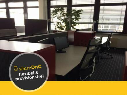 Schöne Arbeitplätze in modernem Großraumbüro in zentraler Lage - All-in-Miete