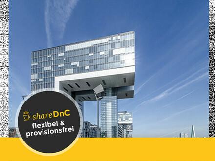 Top Büroräume und Arbeitsplätze im Kölner Rheinauhafen - All-in-Miete