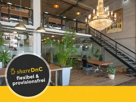 Top moderne Privatbüros, Desks und Meetingräume mit Loftcharakter - All-in-Miete