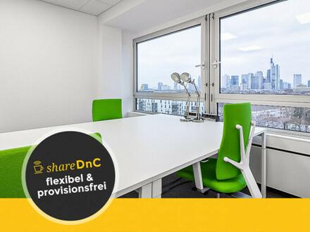 Arbeiten mit Skylineblick: professionelle Offices und Coworking - All-in-Miete