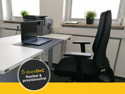 Ausgestatteter Arbeitsplatz in Einzelbüro für 3-5 Wochentage - All-in-Miete