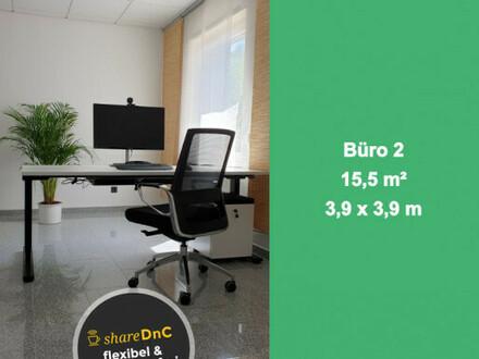 Gut ausgestatteter Büroraum in ruhiger Umgebung - All-in-Miete