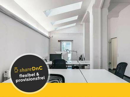 Bürofläche und Schreibtische in kreativer Bürogemeinschaft - All-in-Miete