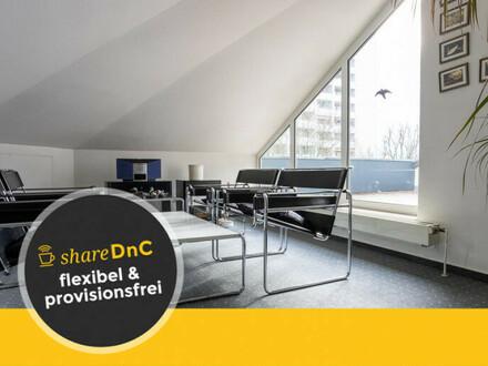 Möbliertes und großzügiges Loftbüro (eigene Etage) mit Dachterrasse - All-in-Miete