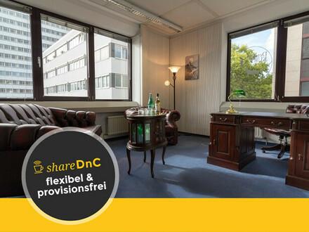 Möblierter Büroraum im Herzen Frankfurts - All-in-Miete