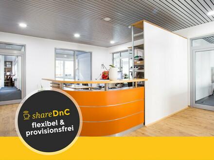 Arbeitsplätze in ruhigem Hinterhofbüro mit Dachterrasse - All-in-Miete