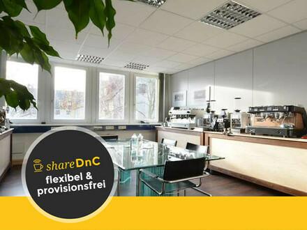 Helle Büroräume in schönem Altbaubüro mit kleinem Park - All-in-Miete