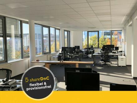 Arbeitsplätze in Großraumbüro in Bürokomplex - All-in-Miete