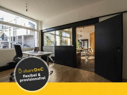 Shared Office // Creative Space. Europaviertel Stuttgart. - All-in-Miete