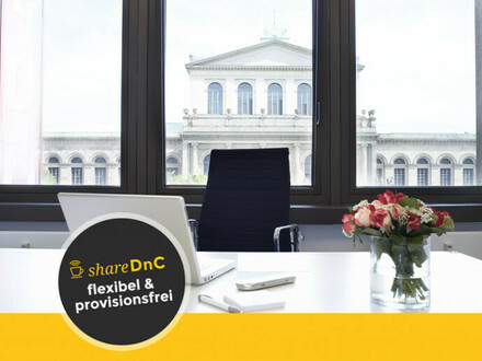Büroraum in Hannover Mitte mit Traumhafter Blick auf die Oper - All-in-Miete