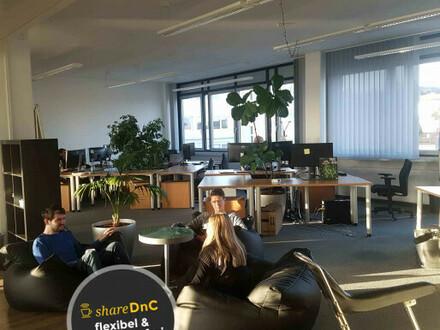 Kreatives Campus-Büro zur Untermiete - All-in-Miete