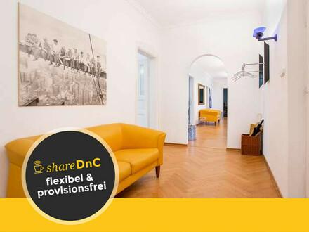 Mondäne Büroräume in Bestlage in Gründerzeithaus - All-in-Miete