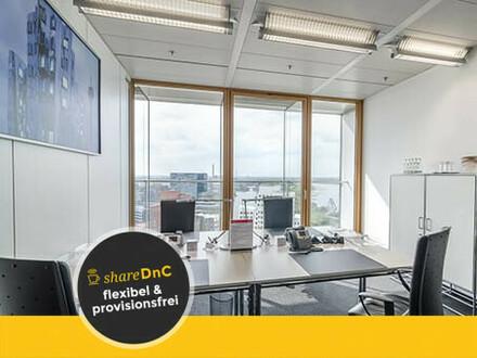 Flexible Büroräume und Büroplätze im begehrten Medienhafen - All-in-Miete