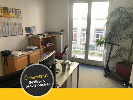 Zentraler Büroraum in Freiburg Nähe Bahnhof Innenstadt zu vermieten - All-in-Miete