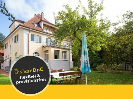 Büroraum in wunderschöner Villa in Harlaching - All-in-Miete