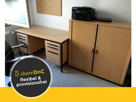 Schöner Büroraum für vormittags in Karlsruher Toplage - All-in-Miete