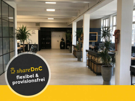 Schöne Büroplätze in modernem Büro & kreativem Umfeld - All-in-Miete