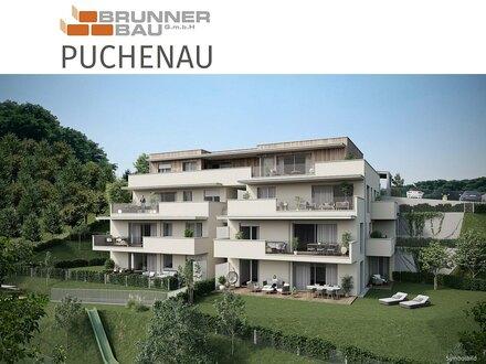 Grünruhelage trifft Stadtnähe - Puchenau - hochwertig ausgestattete Wohnung mit großem Balkon u. Eigengarten!