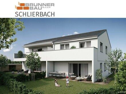 Maisonette-Gartenwohnung in Schlierbach - Neubau - sonnige Ruhelage nahe des Zentrums - Baubeginn 02-03/2022