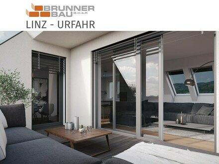 Linz | Urfahr - hochwertige Dachgeschoßwohnung mit südseitiger Dachterrasse - Neubau mit Lift - jetzt informieren!