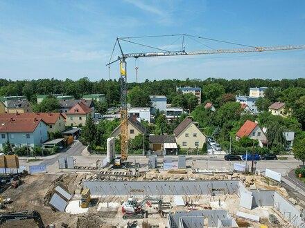 Grünruhelage mit sehr guter Straßenbahnanbindung - Linz - Dachgeschoß-Wohnung mit großem Balkon - Baubeginn erfolgt!!