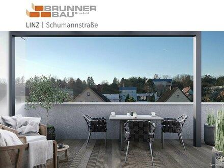 Grünruhelage mit sehr guter Straßenbahnanbindung - Linz - Dachgeschoß-Wohnung mit großem Balkon - jetzt informieren!