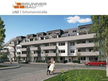 Linz - Neubau - werthaltige Ziegelmassivbauweise in Niedrigstenergiebaustandard mit Tiefgarage, Lift und PV Anlage