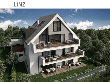 Dachgeschoßwohnung am Linzer Froschberg - mit großzügiger südseitiger Dachterrasse - nur 3 Wohnungen - mit Lift