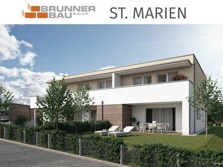 St. Marien - hochwertige Wohnung in ruhiger Lage mit toller Terrasse und Balkon