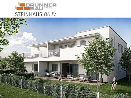 Steinhaus bei Wels - Leistbare Gartenwohnung mit großzügiger Terrasse und inkl. 2 Carportstellplätzen