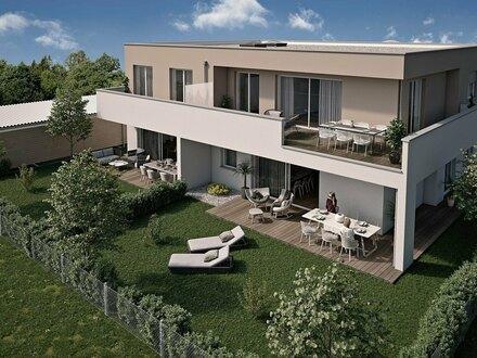 Steinhaus | Hochwertige 4-Raum-Gartenwohnung - Neubau - werthaltige Ziegelmassivbauweise in Niedrigenergiebaustandard