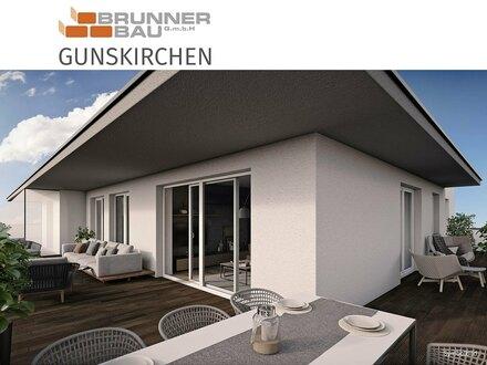 Gunskirchen - Zusperren und auf Urlaub fahren statt arbeiten im Haus und Garten - barrierfreie Dachterrassenwohnung mit riesiger…