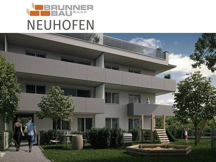Neuhofen - 1. Obergeschoß - hochwertige Wohnung mit tollem Balkon