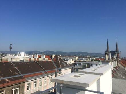 ERSTBEZUG- Exklusive Architekten- Dachterrassenwohnung in TOPLAGE mit herrlichem Wienblick