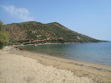 Fantastic plot with expired building permit for 45m2 at Lekfki beach, Pteleos, Magnesia Greece