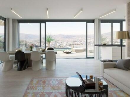 Repräsentative Luxuswohnungen mit Weitblick am Reinerweg! Riesige Terrassen- und Wohlfühlflächen!