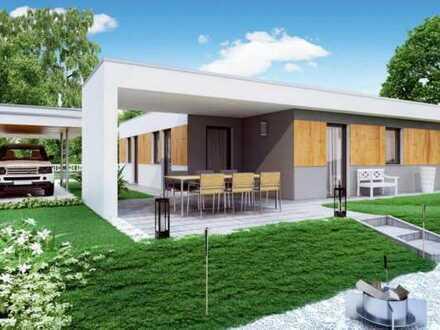 Haas Haus Bungalow Terra 85m² mit Flachdach
