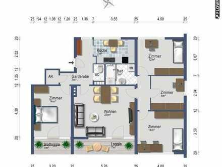 Familiendomizil - 5 Zimmer - provisionsfrei ab sofort oder ab 1. September