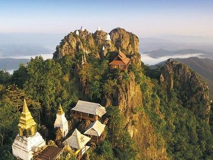 Thailand, Top-solide gebautes Haus in Lampang