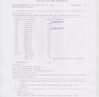 *Top Waldparzellen und Grünland im Südburgenland* Bez. 8380 Jennersdorf/ St.Martin a.d. Raab EZ 494