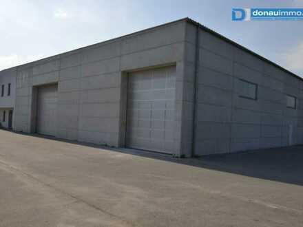 Betriebsliegenschaft mit Halle für Lager u/o Produktion im Gewerbepark Krems