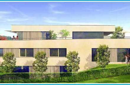 Erstbezug 6/2019: Provisionsfreier Ankauf! Exklusive Penthousemaisonette, 4 Zimmer, 2 Terrassen, Balkon, Carport