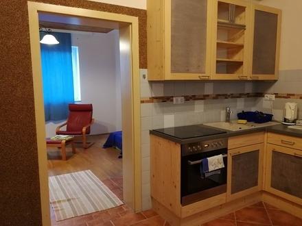 Helle 2 Zimmer Wohnung mit schönem Ausblick