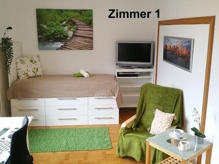 5 Zimmer-Wohnung 129m² # 2 Badezimmer # Voll möbliert und ausgestattet
