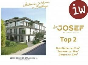 """""""Das Josef"""" TOP 2 Wohnung mit Garten"""