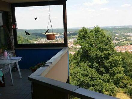 Eigentumswohnung mit spektakulärem Blick über Wertheim und das Maintal