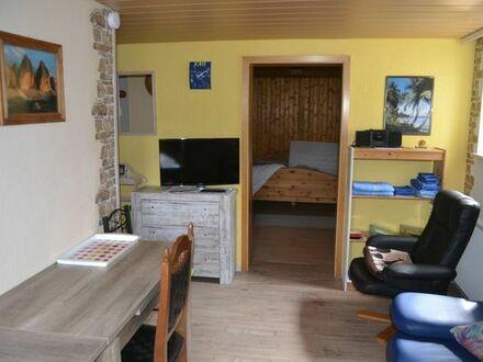 kleine möblierte 2 Zimmer Wohnung.