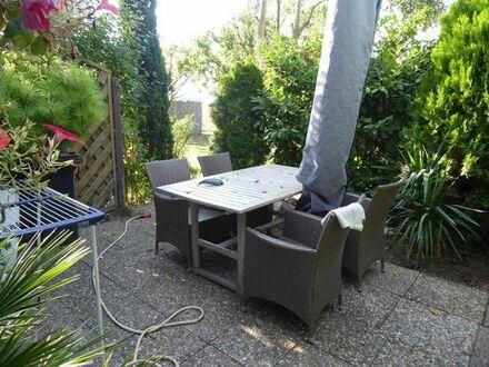 Super Kapitalanlage!! Vermietete 2 ZKB mit Terrasse, Gartenmitbenutzung, Stellplatz in Feldrandlage!