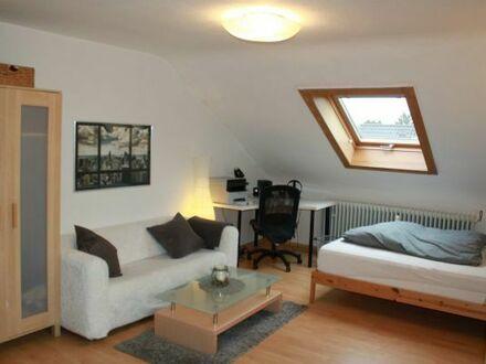 Moderne und gemütlich eingerichtete, geräumige Wohnung in guter Lage (16 Minuten zum Bismarckplatz)