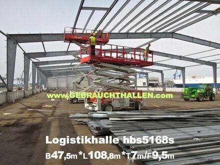 Ankauf & Abbau von Gewerbehallen, Industriehallen, Lagerhallen, Logistikhallen, Abbruch- Stahlhallen